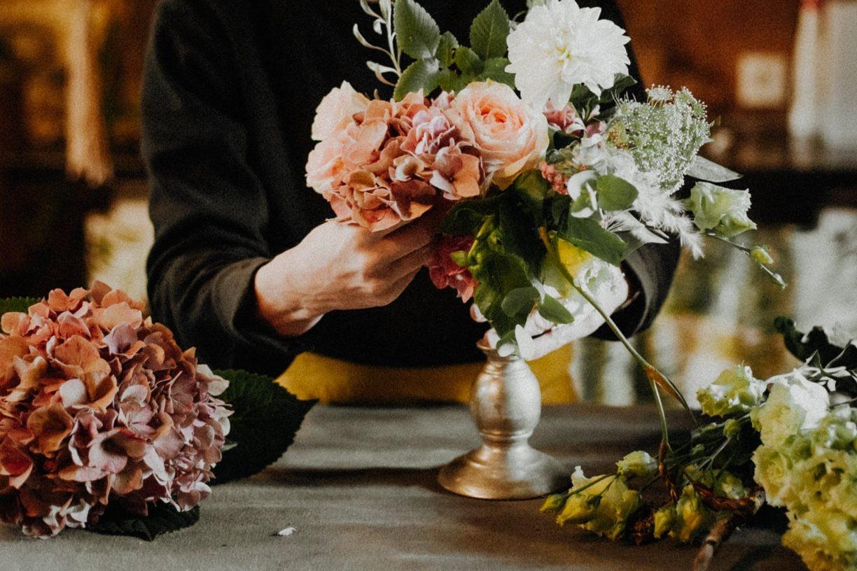 composition florale mariage toulouse vert autrement