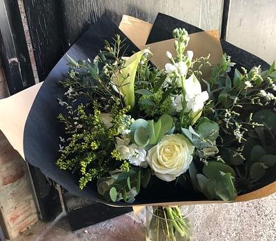 bouquet de fleurs fleuriste blagnac vert autrement