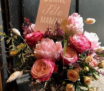 bouquet de fleurs fête de mères fleuriste blagnac vert autrement